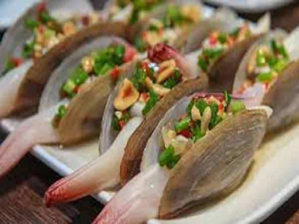 Tu hài hay ốc vòi voi - Hải sản được yêu thích nhất