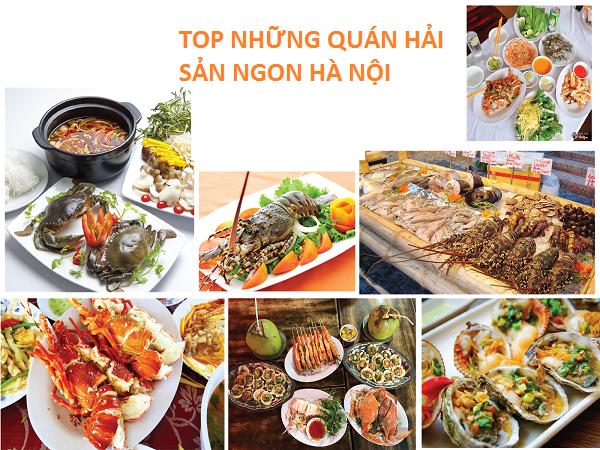 Giới thiệu 10 quán hải sản ngon tại hà nội