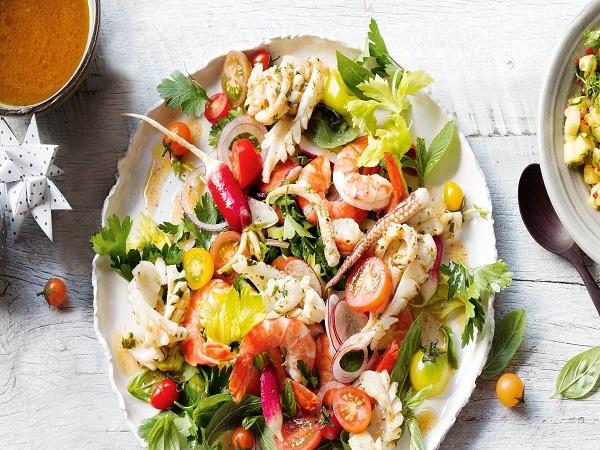 Một số món ăn ngon chế biến từ hải sản
