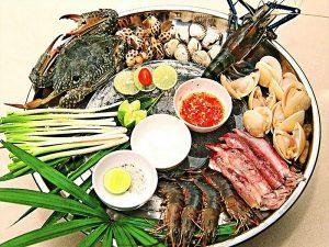 Nhu cầu ăn hải sản ngon ở Hà Nội